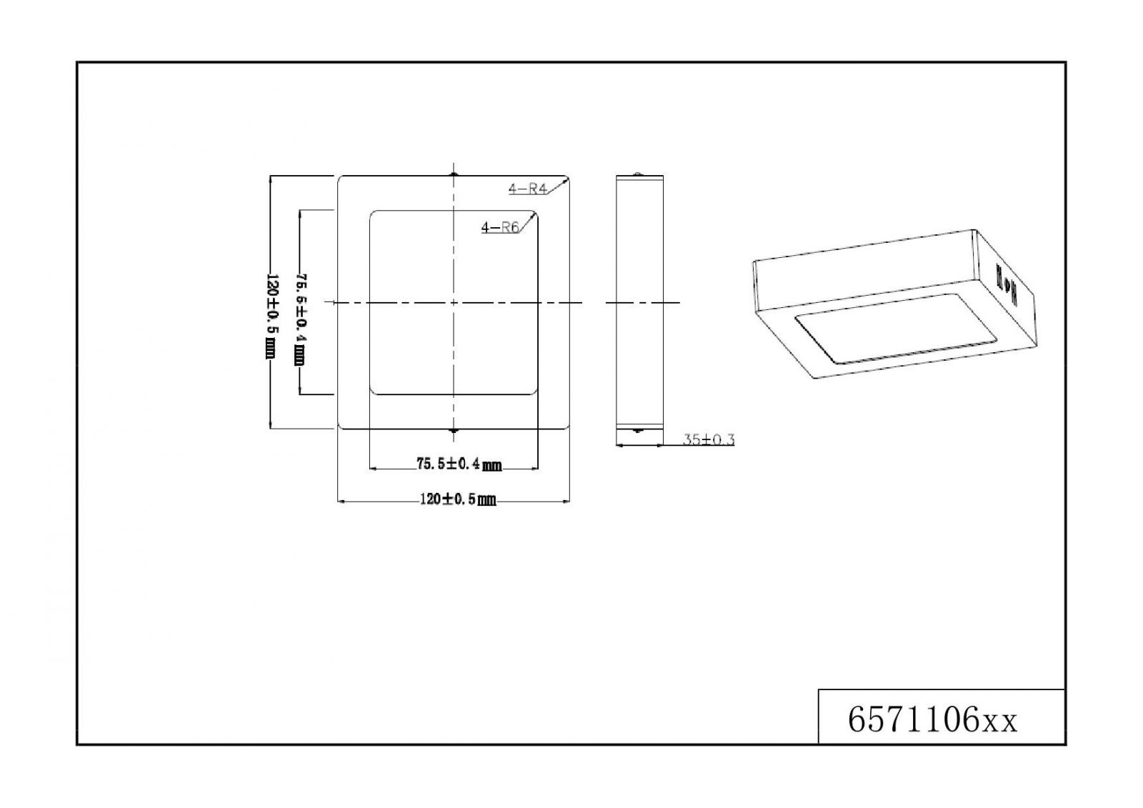 Светильник потолочный Trio 657110607