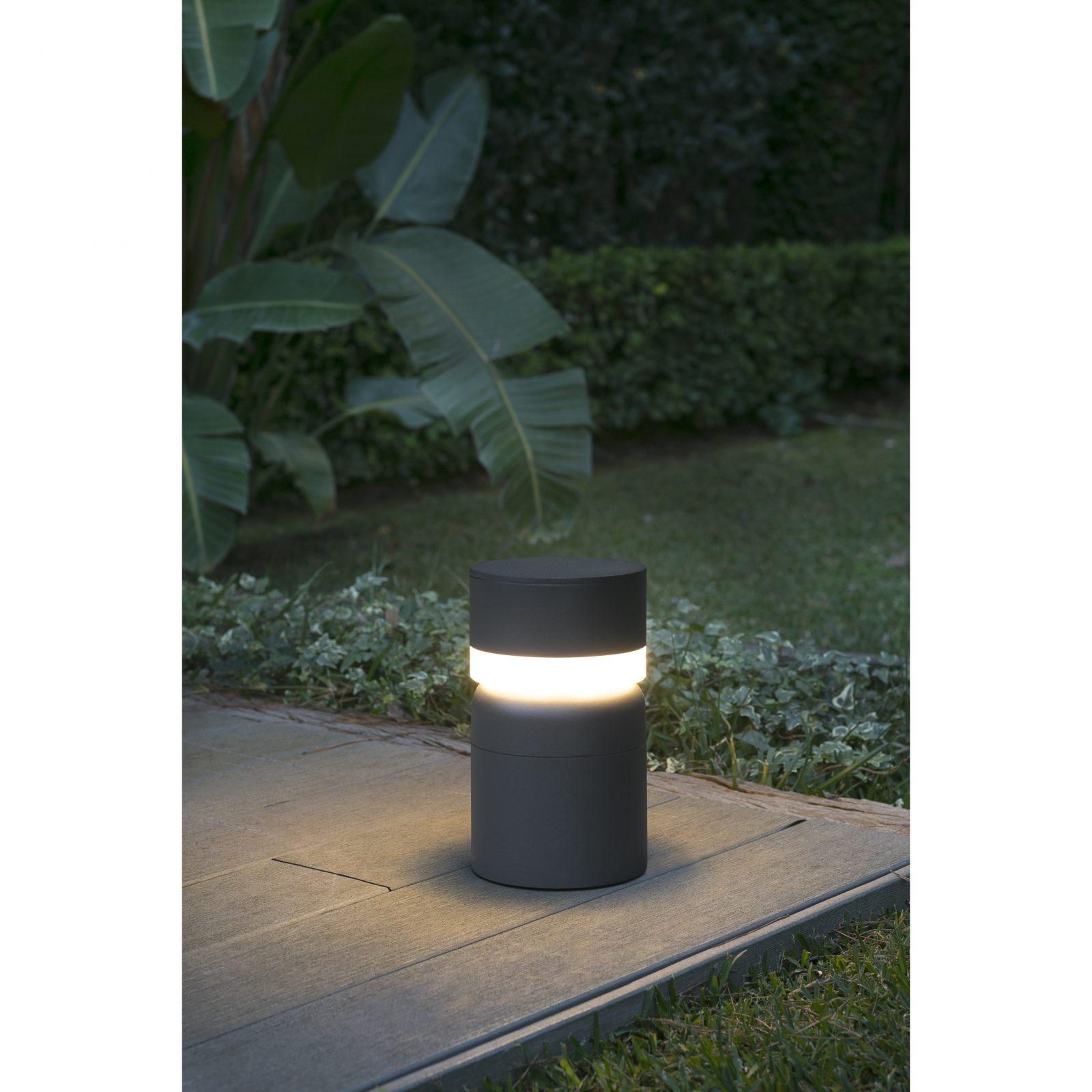 Faro SETE фонарь тёмно-серый LED 6W 3000K H250