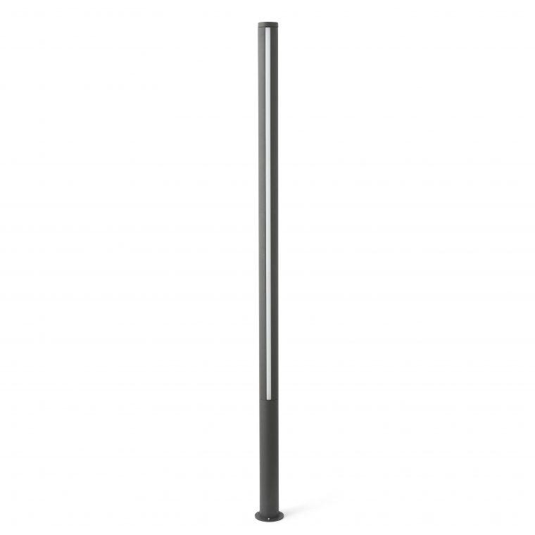 Faro GROP-3 LED Dark grey pole lamp h200cm