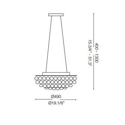 Ideal Lux VIRGIN SP6 023328