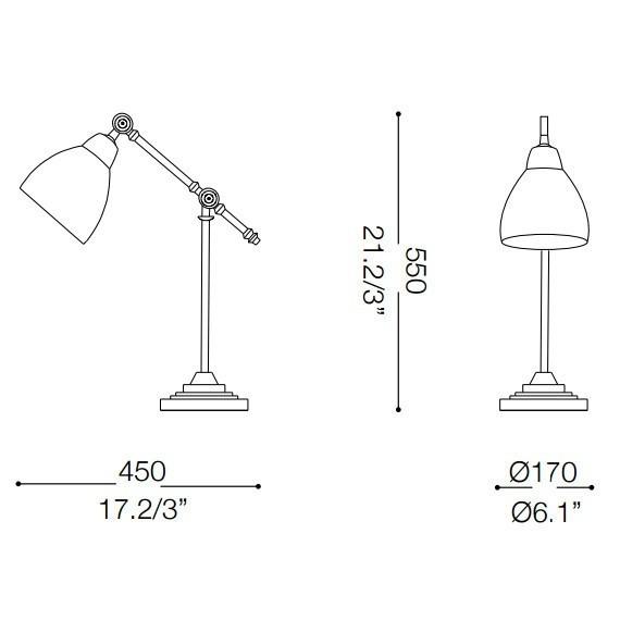 Ideal Lux NEWTON TL1 NERO 003535