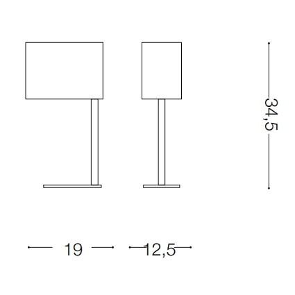 Ideal Lux SHERATON TL1 BIANCO (075013)