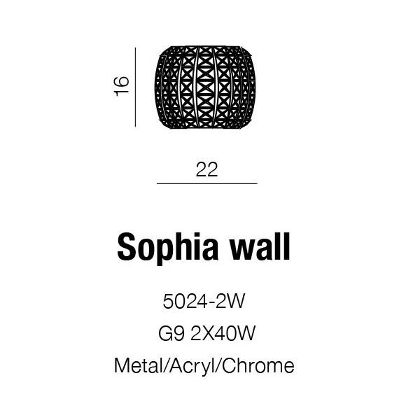 Azzardo Sophia (5024-2W)