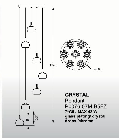 ZUMALINE P0076-07M-B5FZ CRYSTAL (85004)