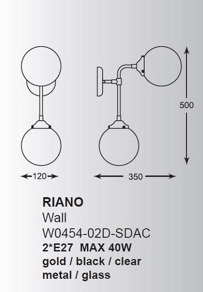 ZUMALINE W0454-02D-SDAC RIANO