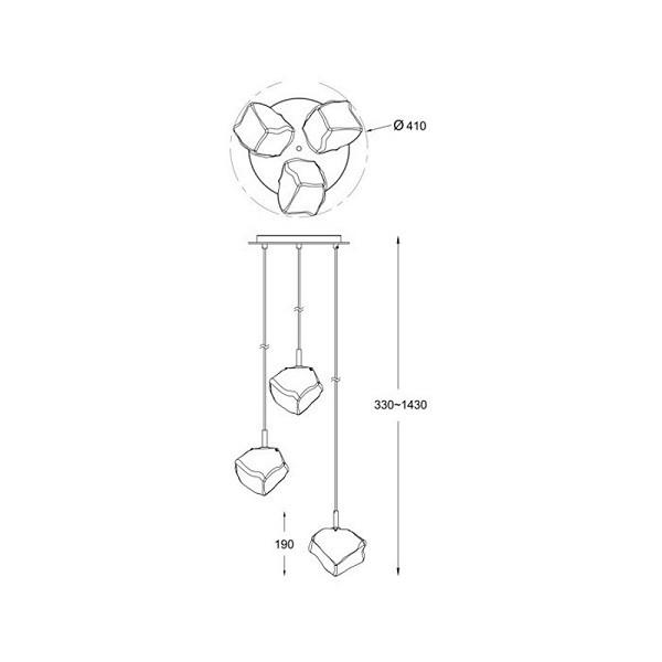 ZUMALINE ROCK P0488-03D-B5AC